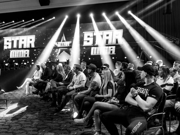 gala Star MMA realizacja agencja QWERK 4
